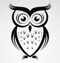 Owl bird clip art vector