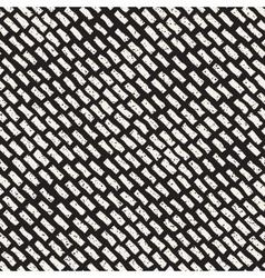 Seamless hand drawn diagonal grunge strokes vector