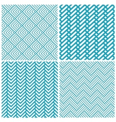 Set of chevrons abstract geometric seamless vector