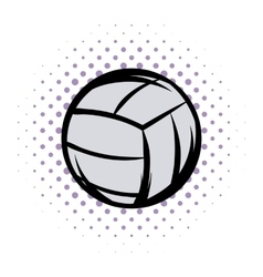 Voleyball comics vector