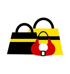 Hand Bags vector image