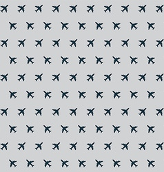 Airplane background pattern vector