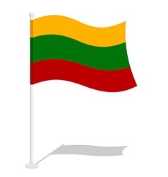 Bolivia flag official national symbol of bolivian vector