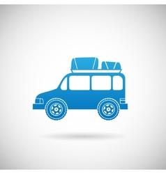 Auto Travel Symbol Car Icon Design Template vector image vector image