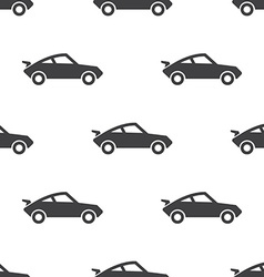 sport car seamless pattern vector image