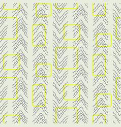 Tiny herringbone and rectangles line seamless vector