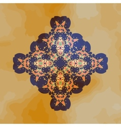 Tribal Motif design Mandala chakra yantra karma vector image