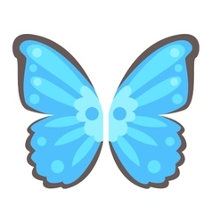 Butterfly wings isolated vector