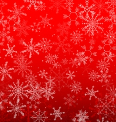Background christmas snowflake design vector