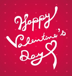 Happy valentines day hand draw vector