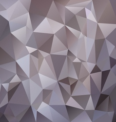 Gray metal polygonal triangular pattern background vector
