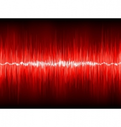 abstract waveform vector background vector image vector image