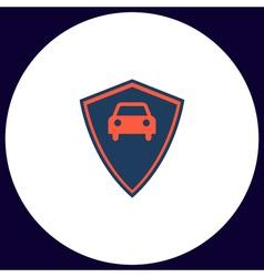 Car guard computer symbol vector