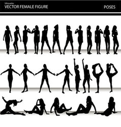 female figures vector image