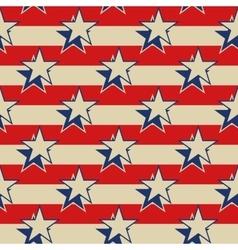 Stars stripes usa patriotic seamless background vector