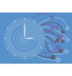 watch texture Concept vector image vector image