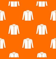 shirt pattern seamless vector image vector image