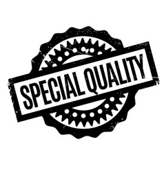 Special quality rubber stamp vector