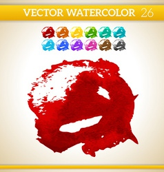 Water color texture vector