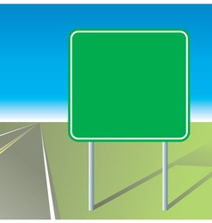 Highway sign vector
