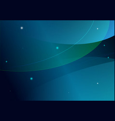 abstract background in blue and green color vector image vector image