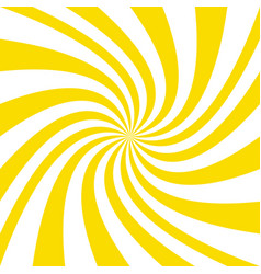 Abstract swirl background from spiral ray stripes vector