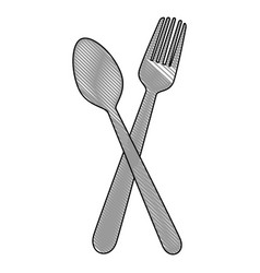 Fork icon image vector