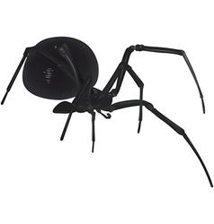 Dangerous spider vector