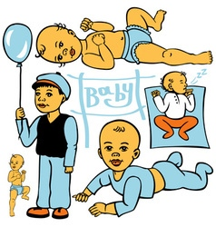 Child development vector