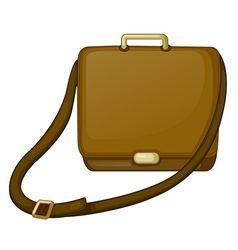 A brown bag vector image