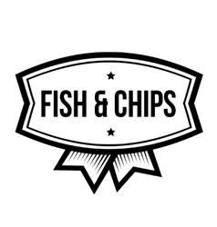 Fast food vintage logo vector