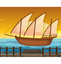 Ship vector image vector image