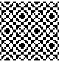Trendy seamless ethnic pattern vector