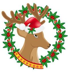 deer 03 vector image