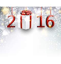 2016 New Year background vector image vector image