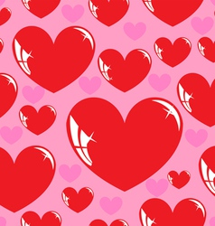 Seamless wallpaper heart vector