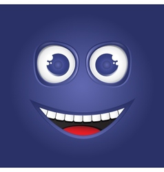 Funny smile vector