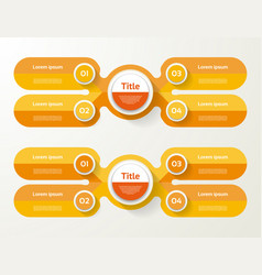 Infographic template for diagram graph vector