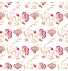Seamless oriental style pattern vector image