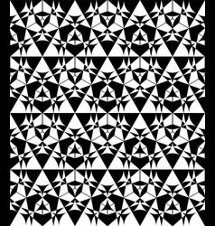 metatron circle seamless pattern vector image