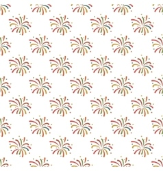 Firework pattern seamless vector