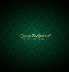 Beautiful green luxury background vector