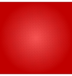 Dots on Red Background Pop Art Background vector image vector image