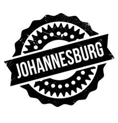 Johannesburg stamp rubber grunge vector