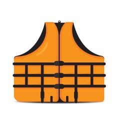 Life jacket vector
