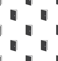 open door seamless pattern vector image vector image