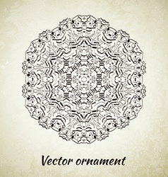 Vintage pattern Hand drawn abstract background vector image vector image