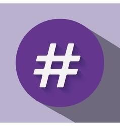 Trend symbol design vector
