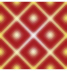 halftone seamless pattern vector image vector image