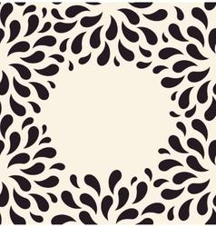 seamless pattern Floral vintage background vector image